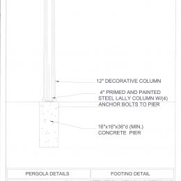 <p>SPS Column Footing Detail</p>